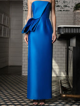 Tubino Dress With Structured Folds