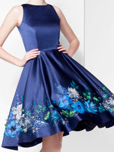 Dress With Painted Flowers