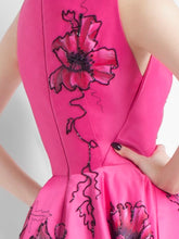 Long Fuchsia Dress