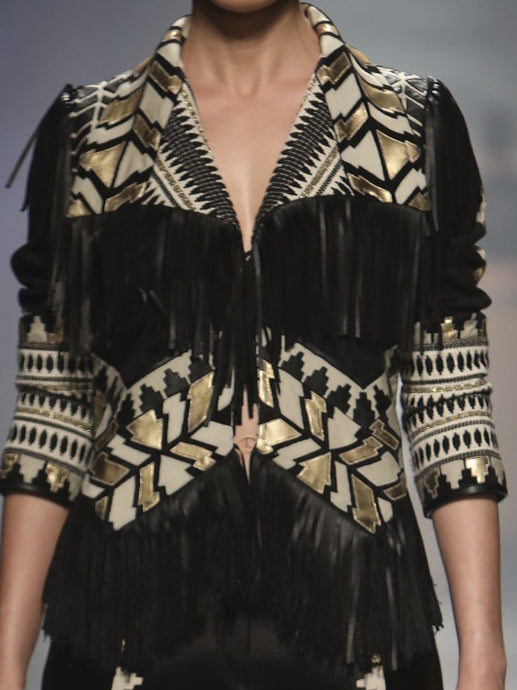 Tribal Fringed Jacket