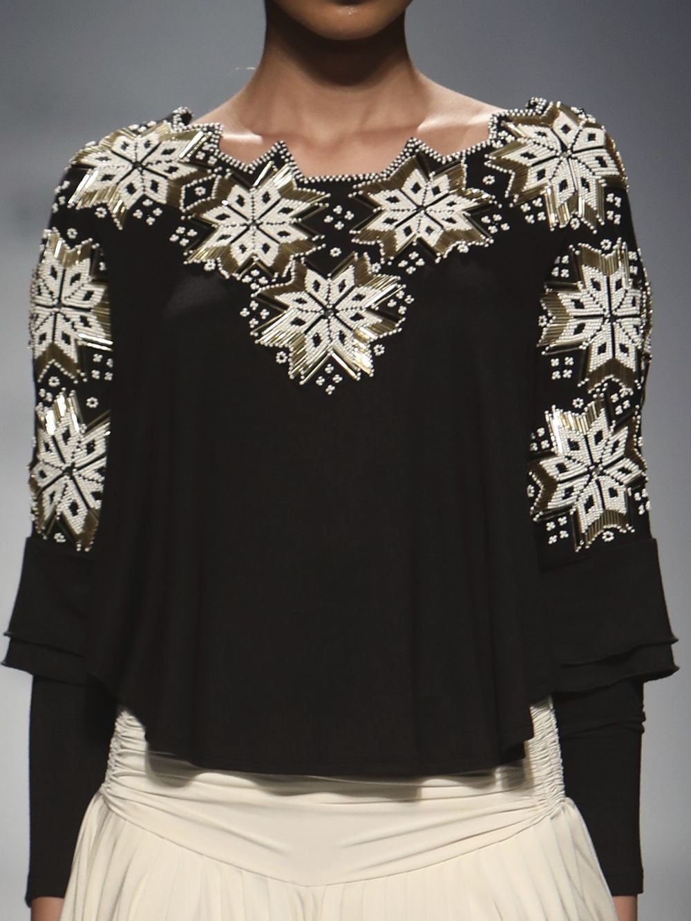 Embellished Mexican Starlite Top