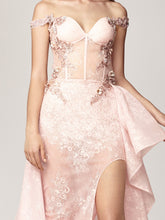 Lace Dress With Corset