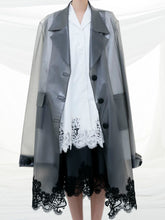 Transparent Jacket With Lace