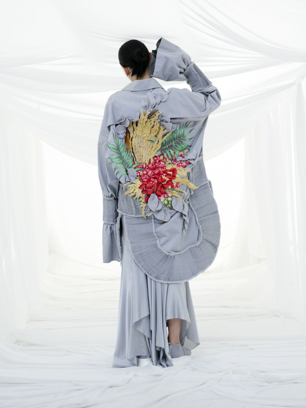 Embroidered Jacket & Dress