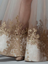 Gold Encrusted Illusion Dress