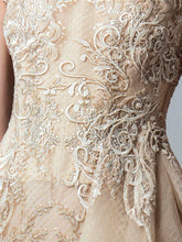 Embroidered Gold Dress