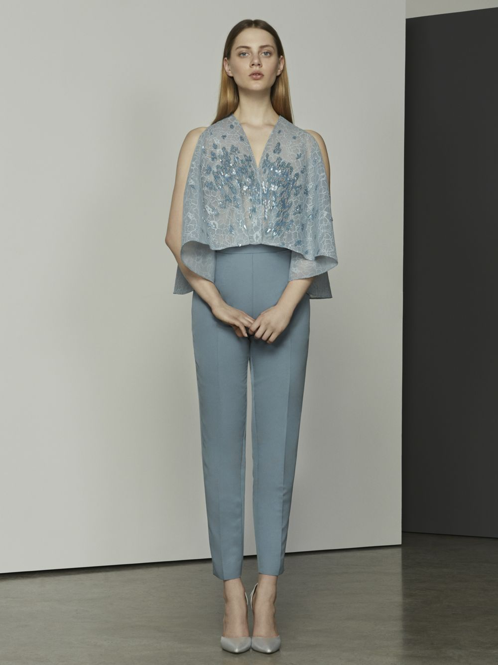 Beaded Top & Trousers