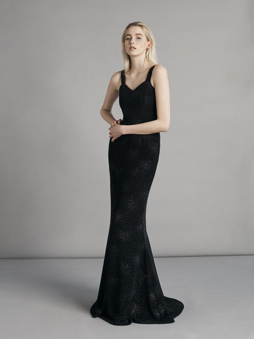 Suppé Sequin Dress Black