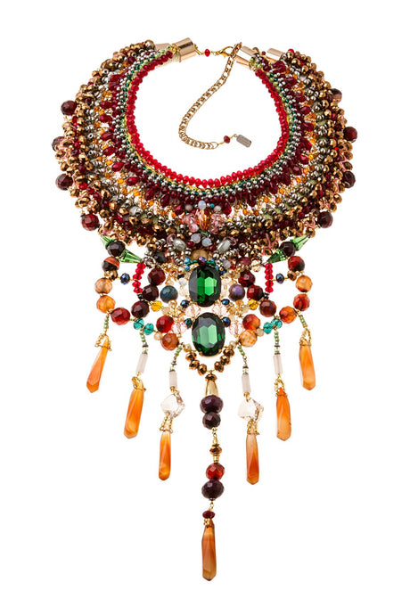 SARAI PRECIOUS STONE NECKLACE
