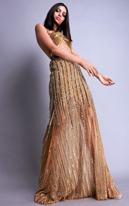 Embellished Handmade Gown