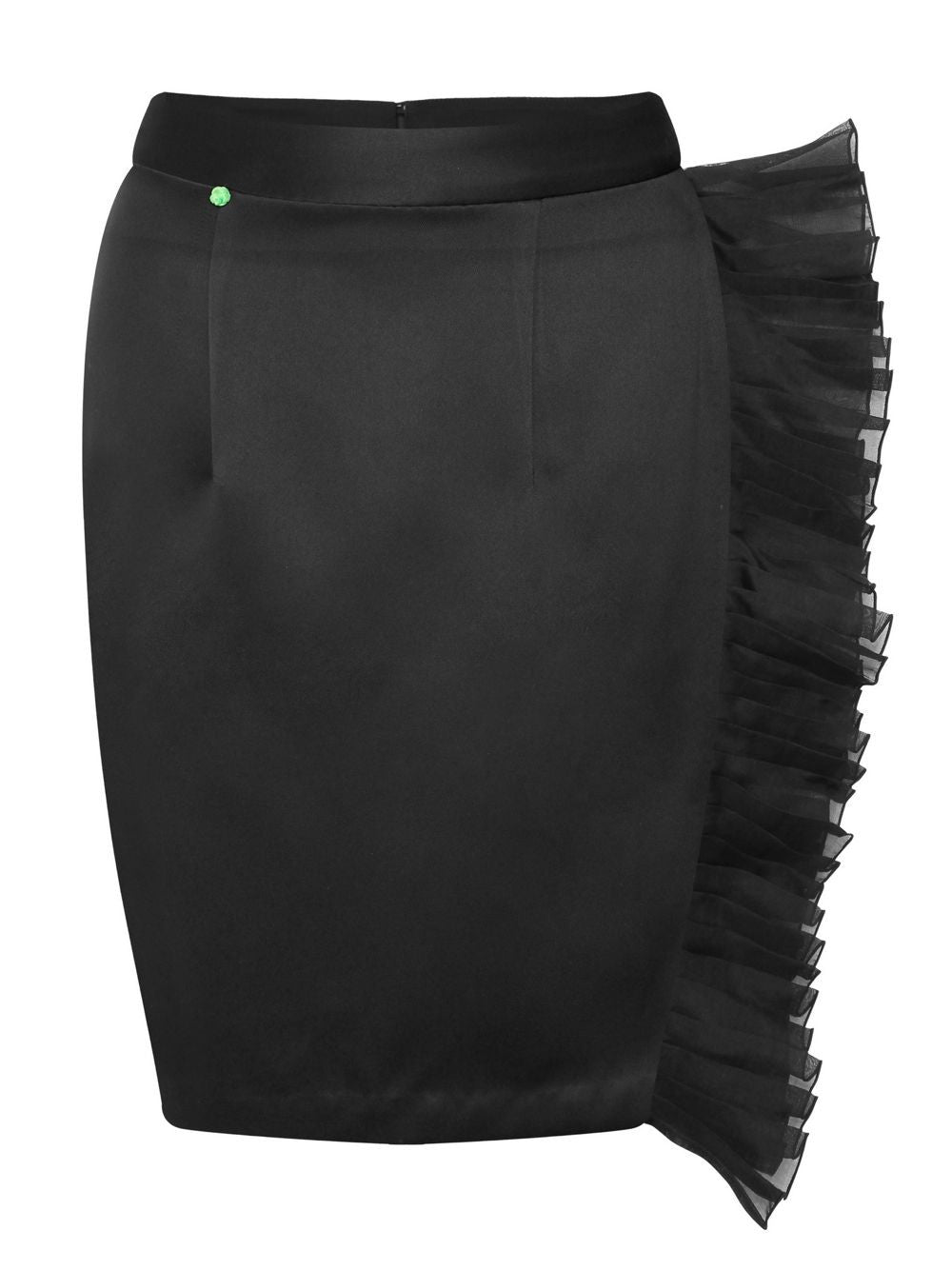Sheath Skirt With Lace