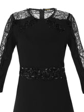 Lace Embroidered Dress