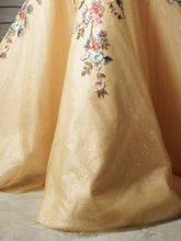 Embroidered Ball Gown