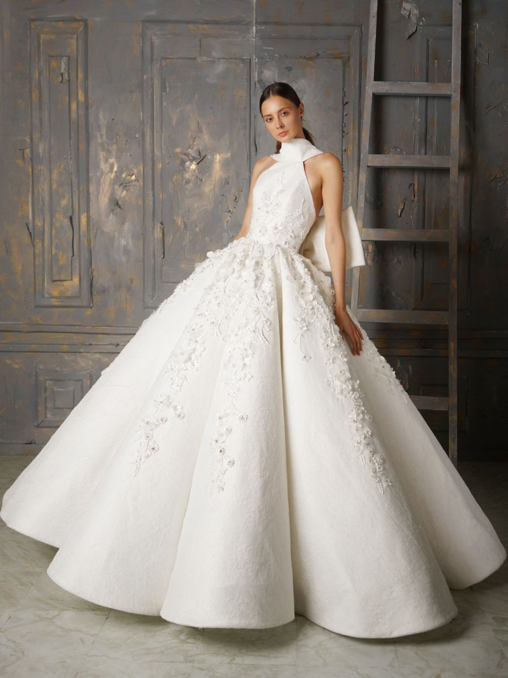 Voluminous Wedding Gown – World Wide Couture