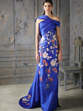 Embroidered Column Dress