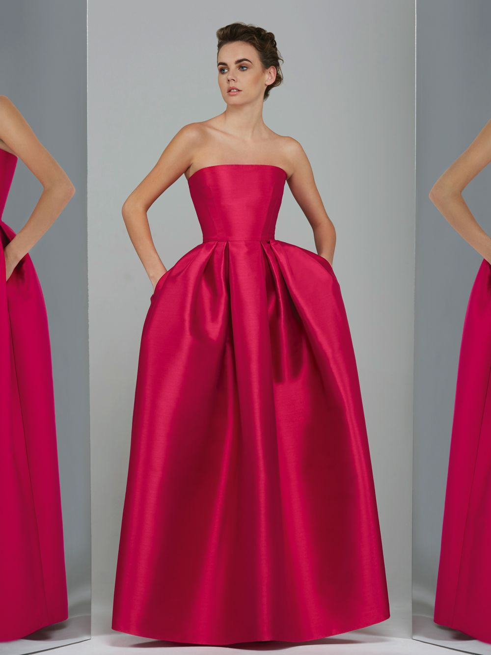 Strapless Volume Gown