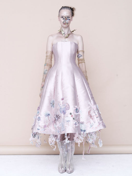 Embellished Couture Dress