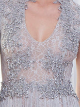 Beaded Lace Gown