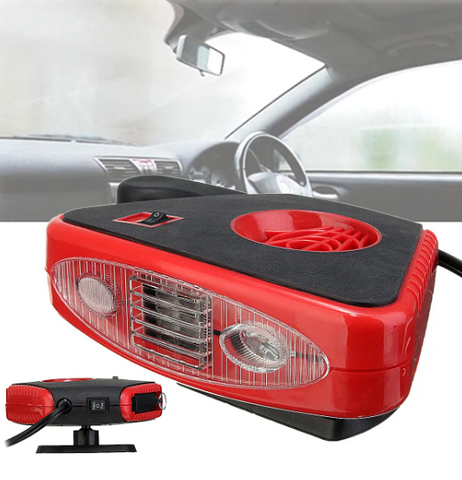 Automatic Instant Heater Defroster Cooling Fan With LED