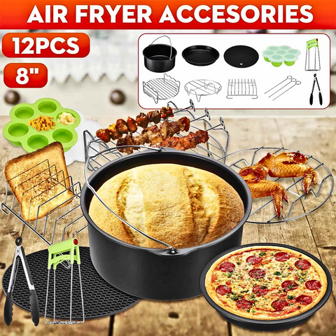 12PCS Air Fryer Accessories