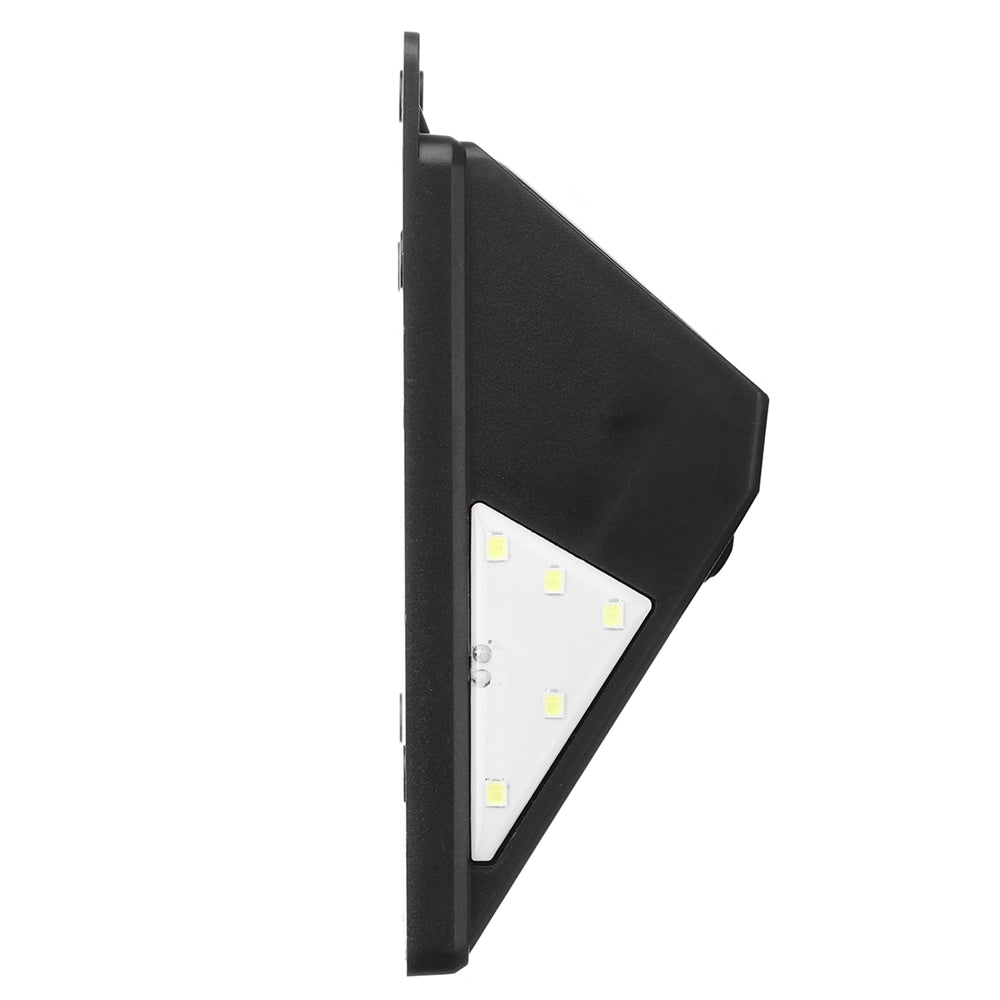 solar outdoor wall lights side view