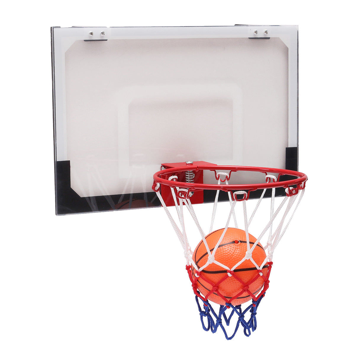 Mini Basketball Set Indoor Net Hoop with Ball Pump Indoor Sporting Game Goods