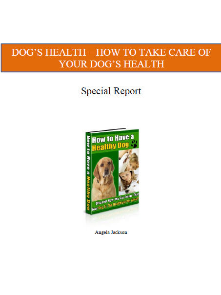 Ginger Hill Creations™ Dog Training Book and Special Report 5 Item Collection from DogTrainingVillage.com (Downloadable)