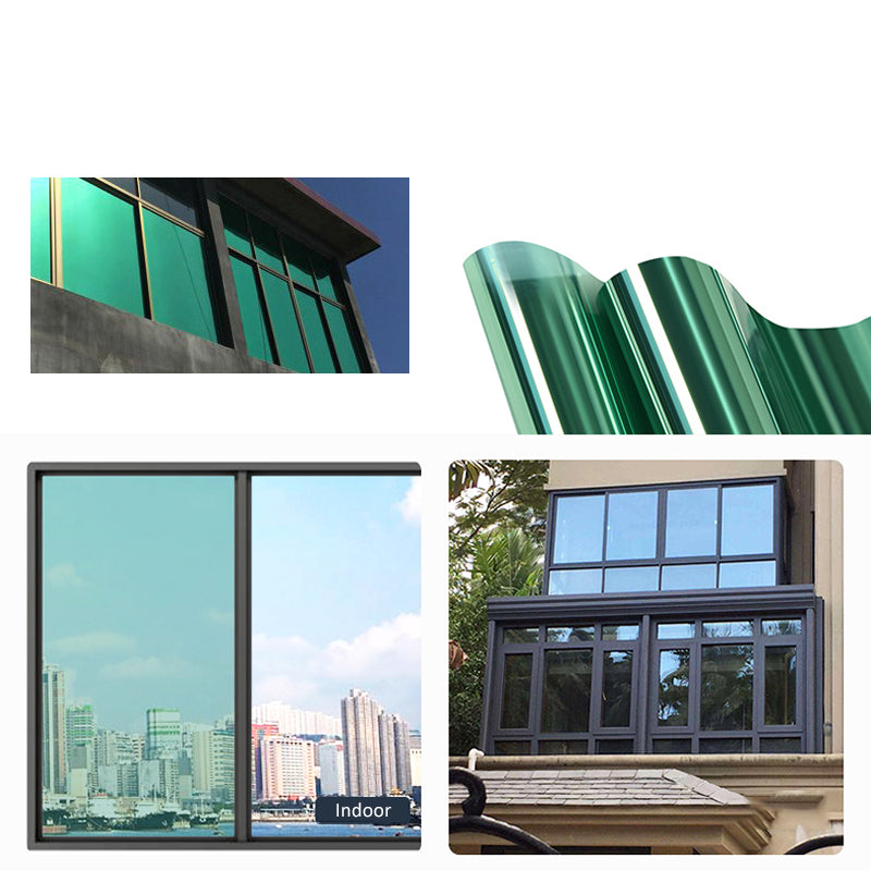 40cm x 1M/ 3M/ 5M One Way Mirror Window Tint Window Film Privacy Reflection Tint Film