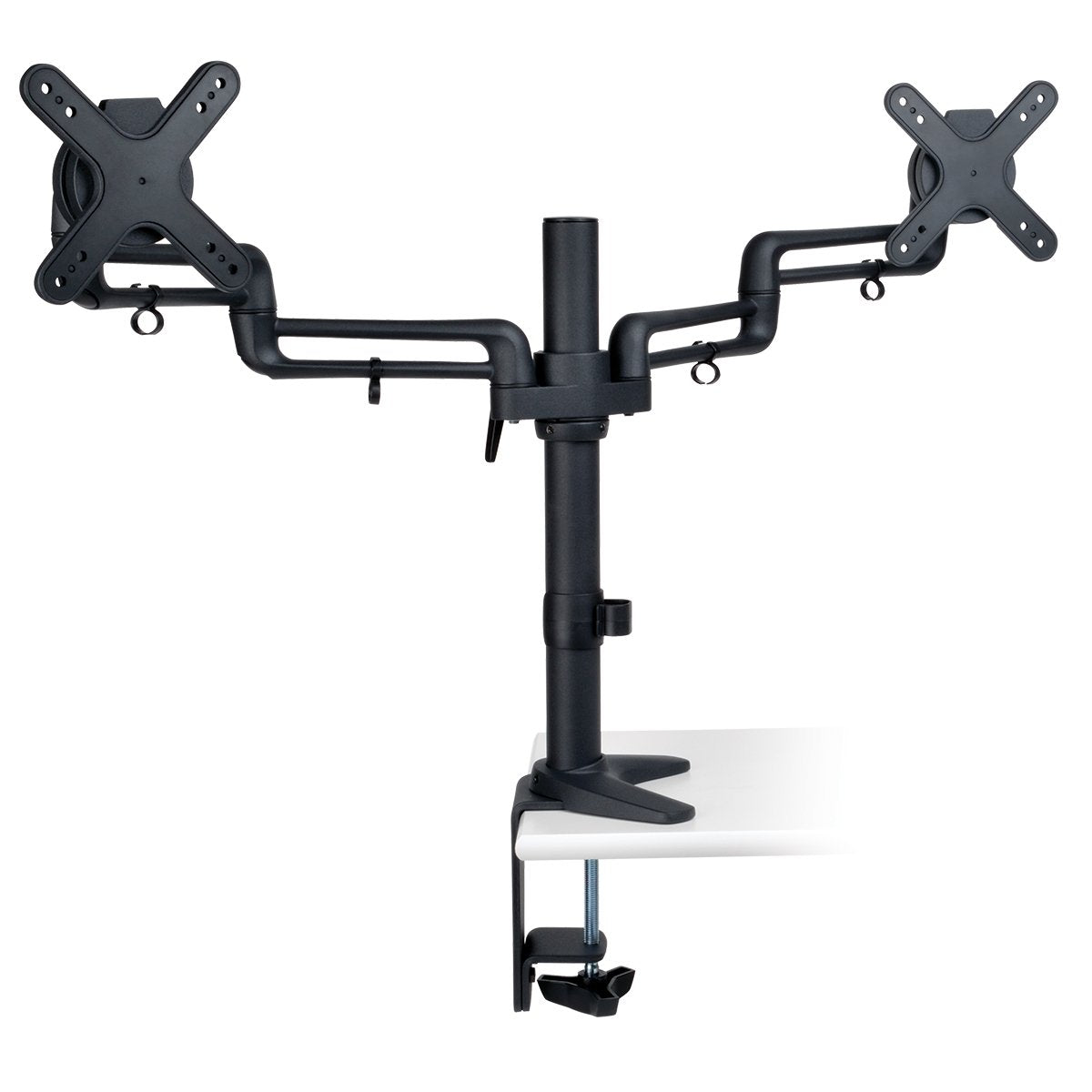 Tripp Lite Dual Full Motion Flexible Arm Desk Clamp for 13