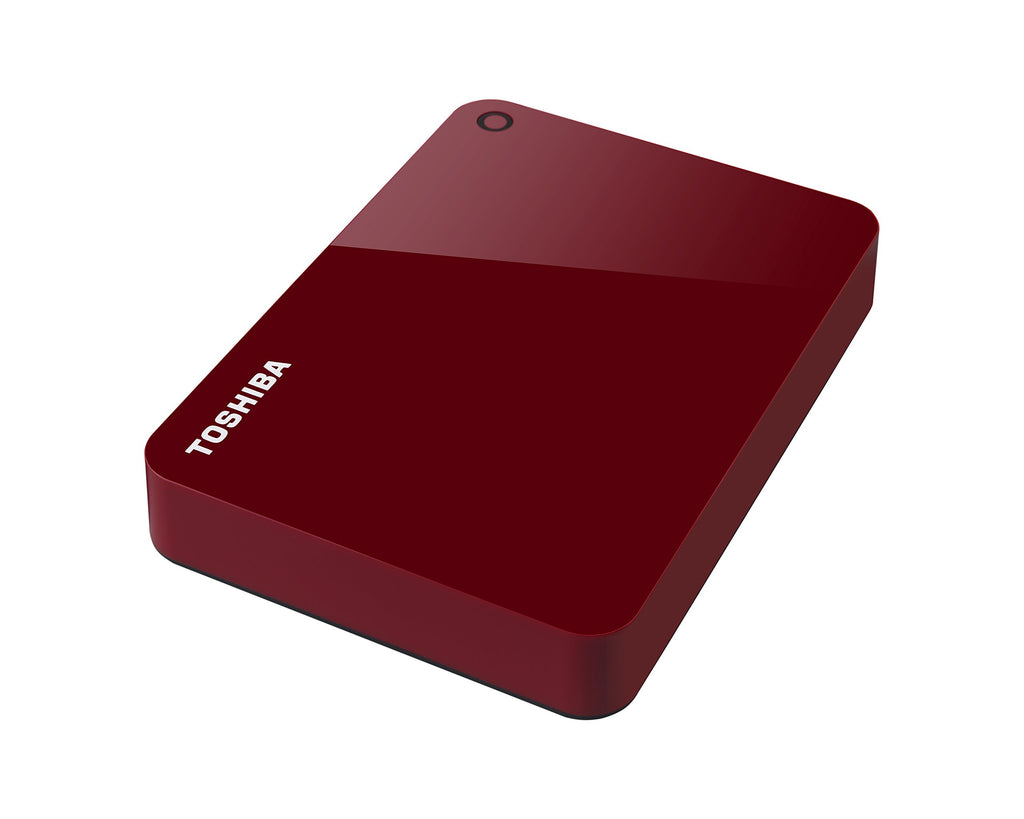 "Toshiba™ Red Canvio Advance HDTC940XR3CA 4 TB External Portable Hard Drive - 2.5"" External"