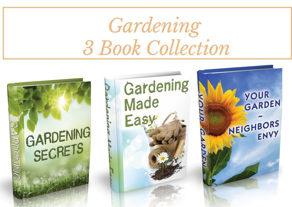 Ginger Hill Creations™ Gardening 3 Book Collection (Downloadable)