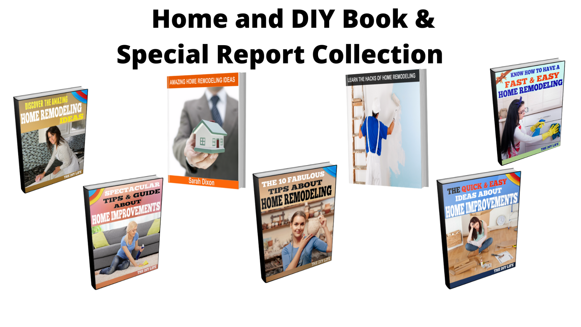 Ginger Hill Creations™ Home and DIY Book and Special Report Collection (Downloadable)