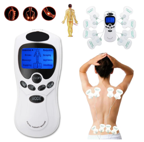 VIBRASONIC™ 8 Modes Digital Meridian Physiotherapy Instrument Sports Fitness Fatigue Muscle Relief Electric Pulse Massager