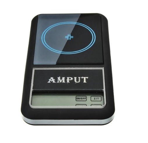 AMPUT™ 0.01g x 200g Professional Digital Pocket Gram Scale With Auto-Off Overload Protection Function