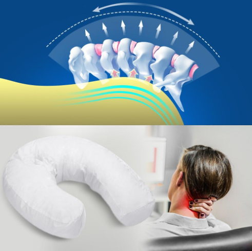 Spine Pain Pillow for Neck, Spine and Shoulder Support