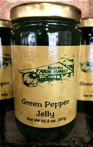 Green Pepper Jelly 8 oz.