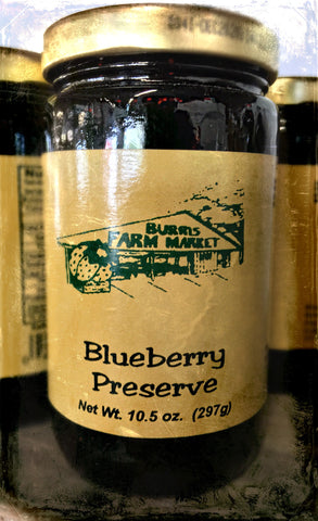 Blueberry Preserves 16 oz.