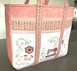 Guest Blog: Adding different pockets inside the Romantic Roses Sewing Caddy by Alicia Raaymaker, Australia