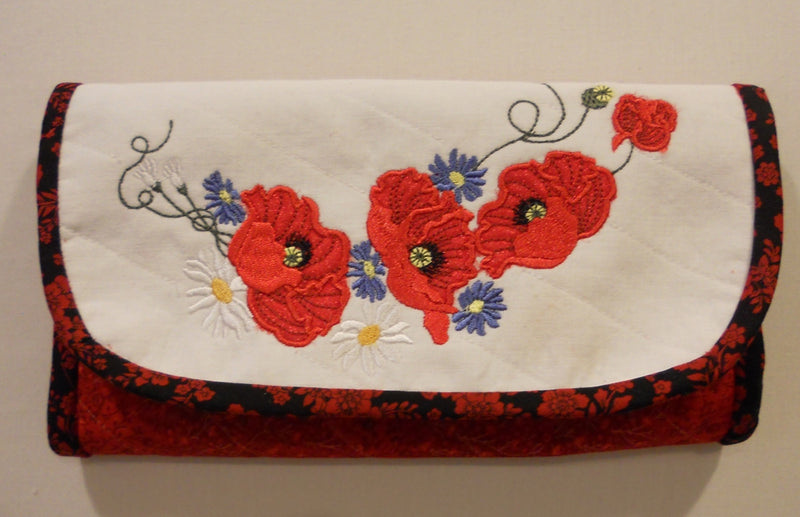 Pretty Poppies Wallet
