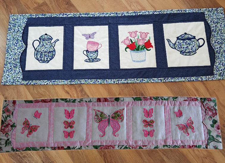 Bundle of Beautiful Butterflies  and Coffee Table Runners
