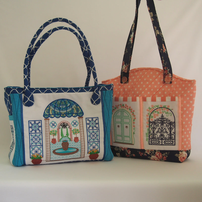 Bundle of Italian Summer and Decorative Gates Handbags