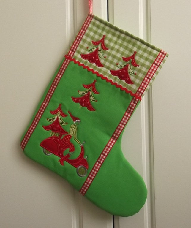 Bundle Christmas Wreath, Table Runner and Stocking