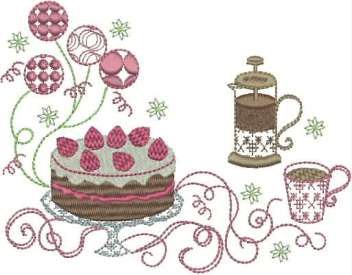 Vintage Tea Party (Lets Celebrate) Set