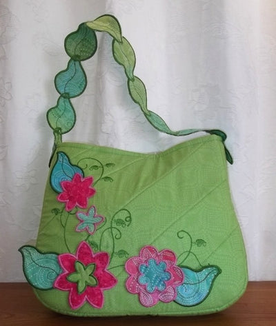 Vintage Falling Leaves Purse