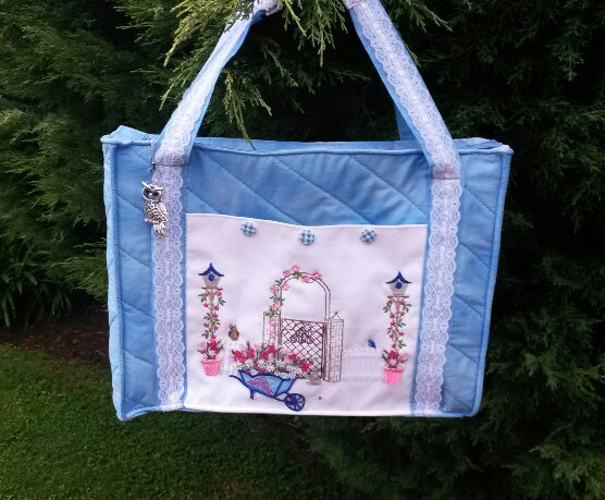 Bundle Garden Handbag and Rosebud Purse