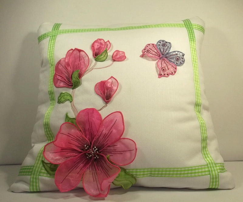 Magnolias Cushion 2