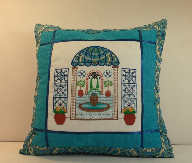 Bundle Mediterranean Courtyard and Italian Balcony Pillows