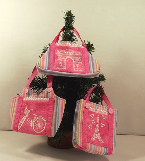 Mini Paris Doll handbags
