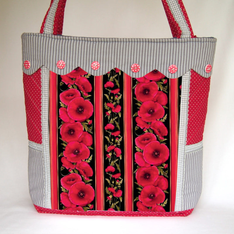 Sewing Pattern Only - Bundle of Spring Floral and Poppy Handbags