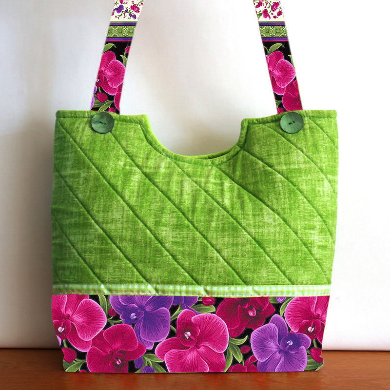 Sewing Pattern only Sweet Floral Tote
